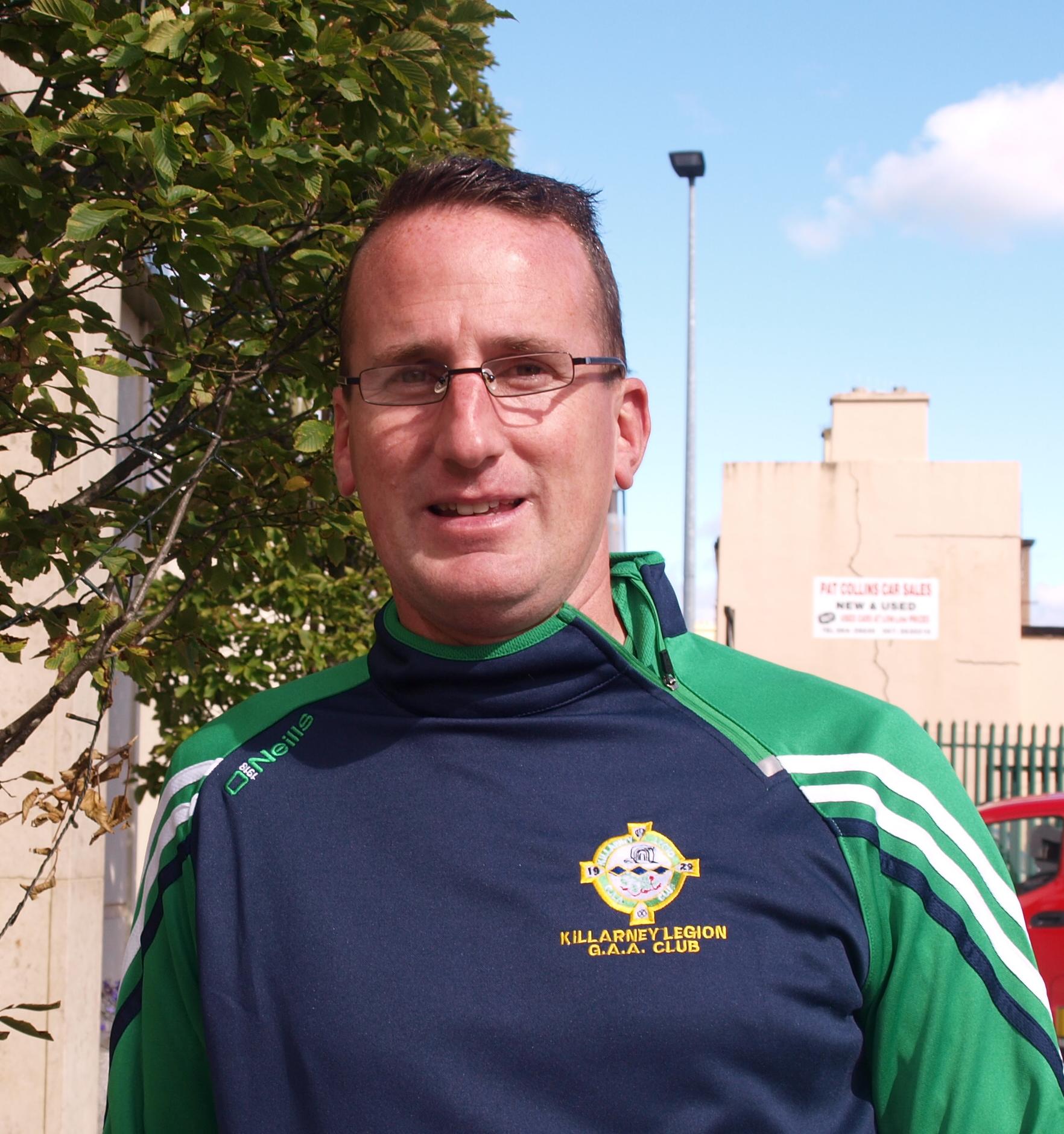 New Killarney Legion chairman Enda Walshe.