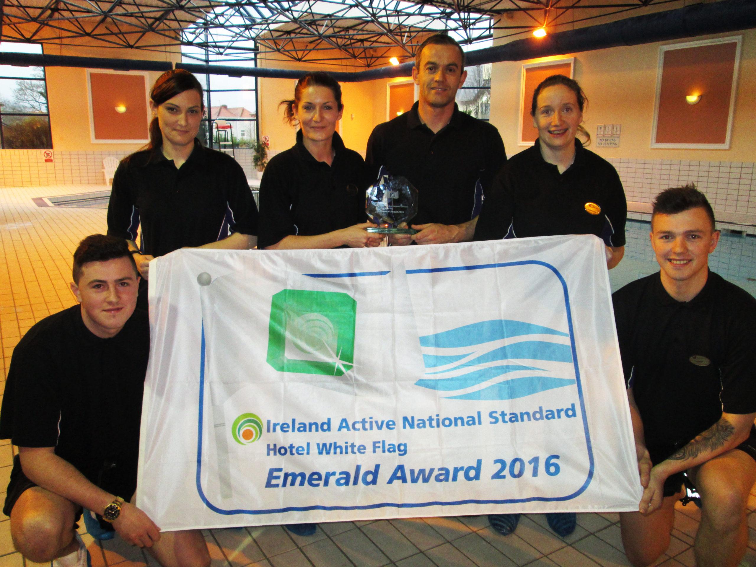 The team at Club Vitae at Hotel Killarney, Brad Gordon, Sharon O'Sullivan, Louise Devaney, Philip O'Brien, Rebecca Nagle and Gordon Buckley.