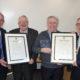 Cllr Michael Gleeson, Tom Joe O'Donoghue, Paddy O'Donoghue, Cllr Bobby O'Connell (Cathaoirleach, Killarney Municipal District).