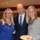 Fianna Fail leader Micheal Martin with Ciara Irwin Foley and Emer O'Shea.