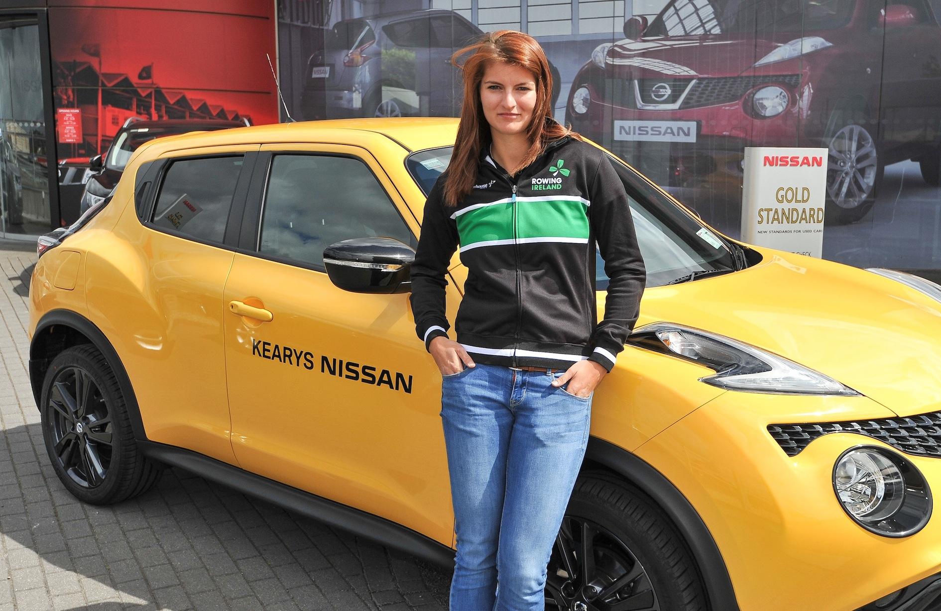 Irish senior rowing high performance team member Monika Dukarska. PICTURE: DAVID KEANE
