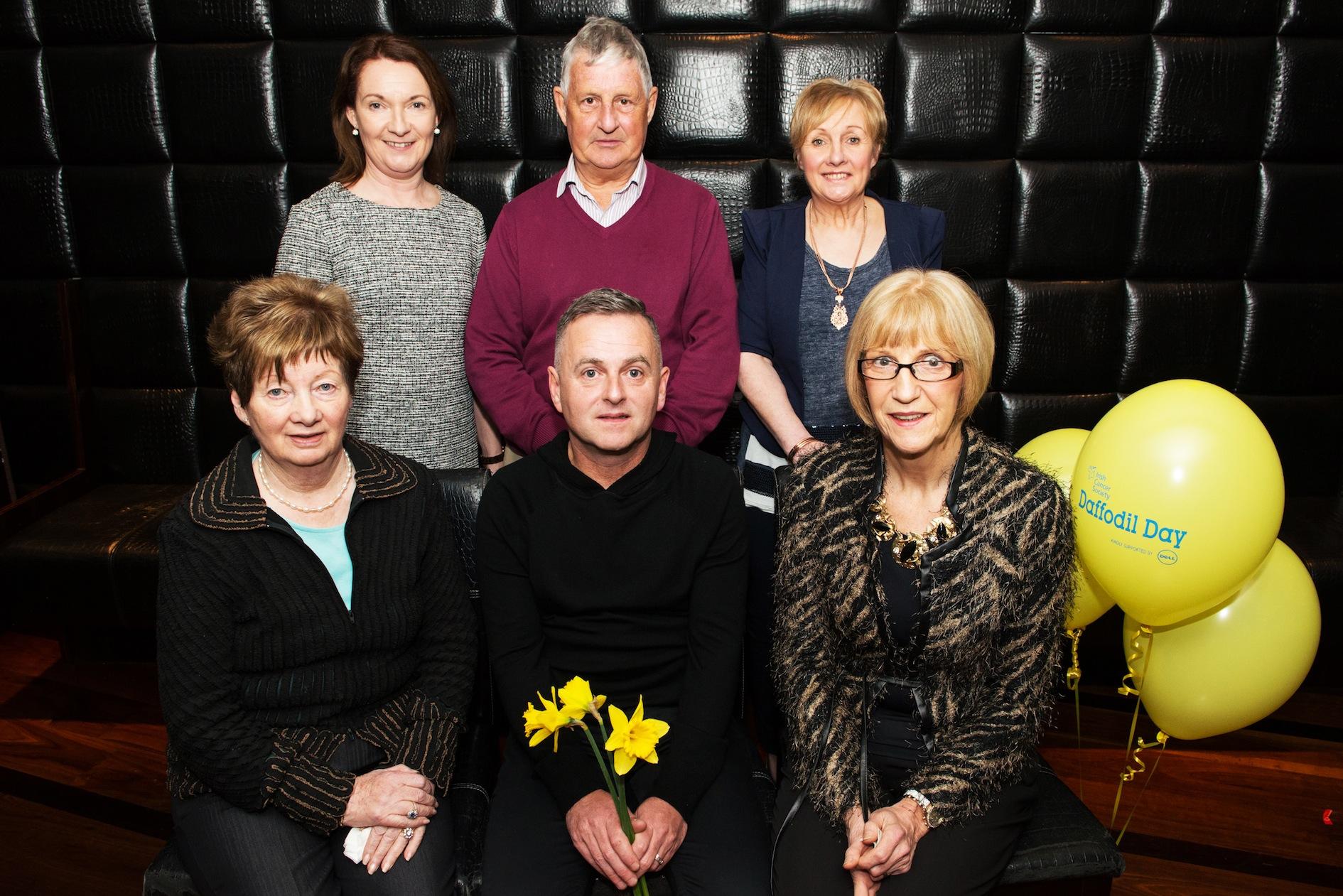 The committee of the Killarney and South Kerry Branch of the Irish Cancer Society Kathleen O'Shea (treasurer), Eugene O'Sullivan (chairman), Kathrina Breen (secretary); back,Eleanor O'Doherty, Timmy Moriarty and Kathleen Cronin. PICTURE: MAREK HAJDASZ (MHPHOTOS.IE)