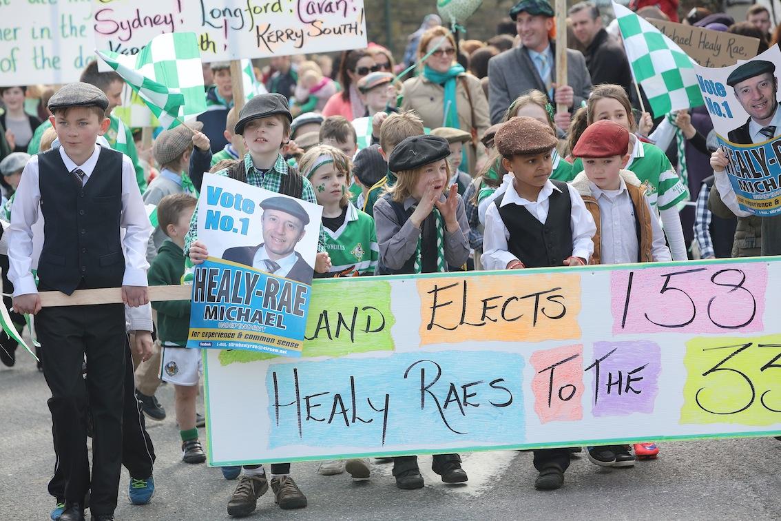 Best overall entry Killarney Legion GAA Club participating in the St Patrick's Festival Parade in Killarney. PICTURE: VALERIE O'SULLIVAN