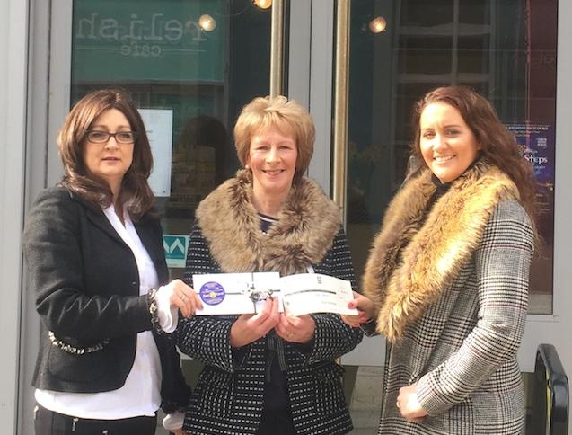 Aine O'Donoghue, Helen Cronin and Laura O'Mahony.