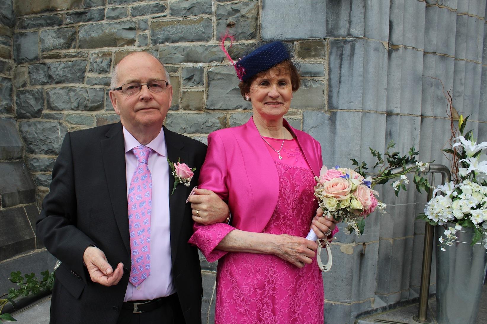 Eileen O'Sullivan and Thomas Fleming.