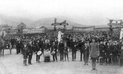 Volunteers in Dingle in 1915.