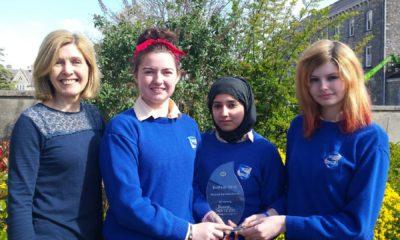 The team from St Brigid's Presentation Secondary School.