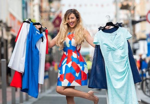 Lisa Jordan launches Closet Clearout. PICTURE: MAREK HAJDASZ
