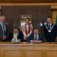 Cllr Brendan Cronin, Cllr Terry O'Brien Mayor of Tralee, Cllr Aoife Thornton, Cllr Michael O'Shea, Mayor of Kerry, and Cllr John Flynn. PICTURE: DOMNICK WALSH