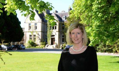 Emer Corridan, new general manager of Cahernane House Hotel.
