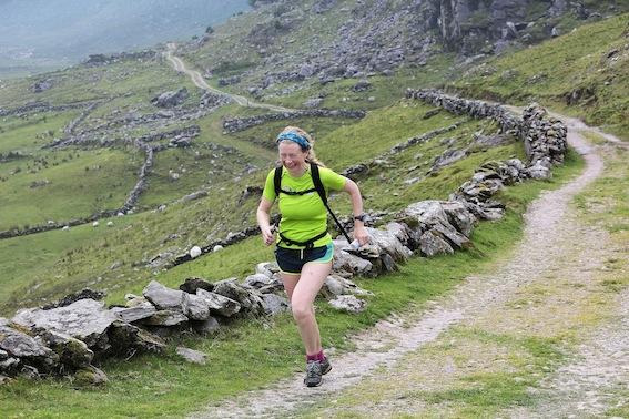 Tina Reed, Killarney, ultra-athlete, taking part in the Kerry Way Ultra Marathon. PICTURE: VALERIE O'SULLIVAN