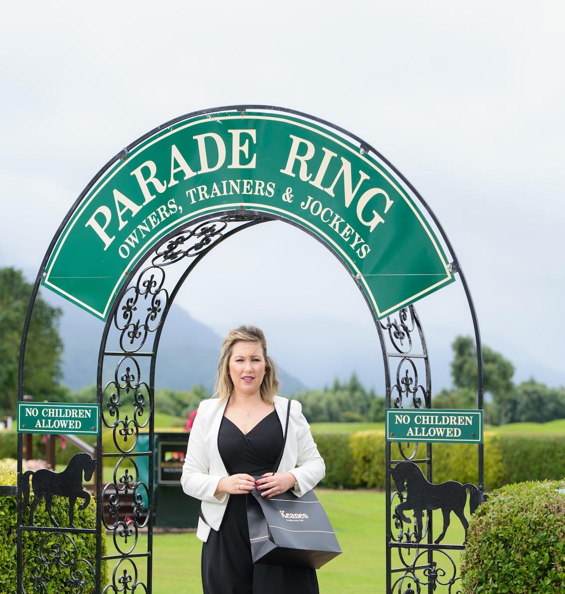 Caitriona Carroll at the launch of Killarney's August Racing Festival. PICTURE: MAREK HAJDASZ