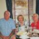 Mary and Garvin Godfrey with Kay Randles.