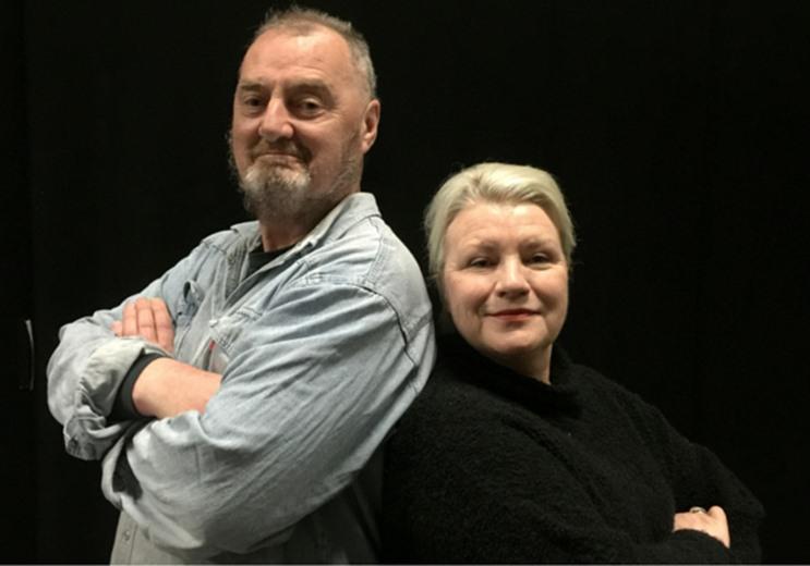 John Kenny and Mary McEvoy.