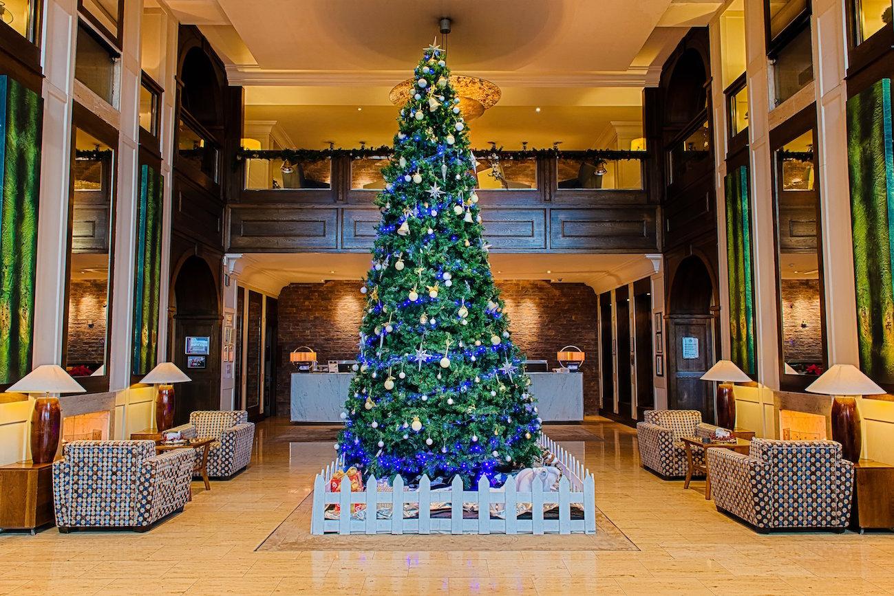 The Brehon Christmas tree.