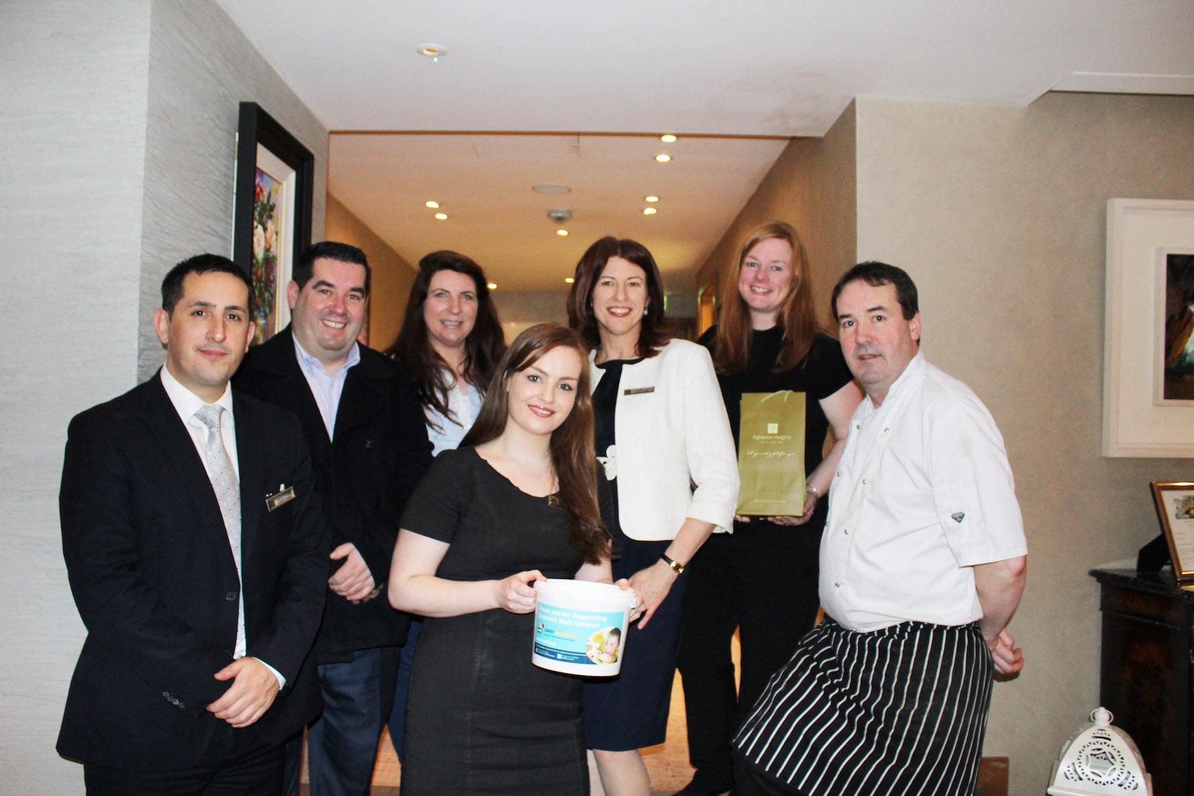 David O'Brien, PJ O'Sullivan, Aunty Nelly's Sweet Shop, Ramona Keogh, Claire Enright and Geraldine Dolan, Aghadoe Heights Hotel & Spa, Patricia O'Brien and head chef Will Fitzgerald.