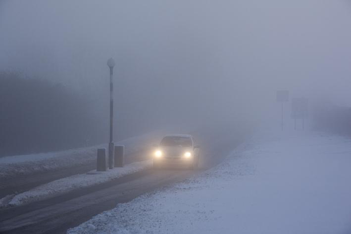 freezing fog.