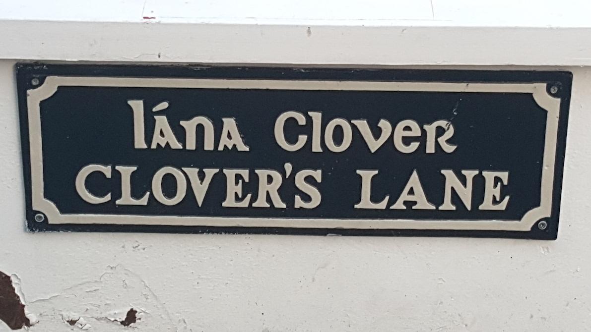 Clover's Lane.