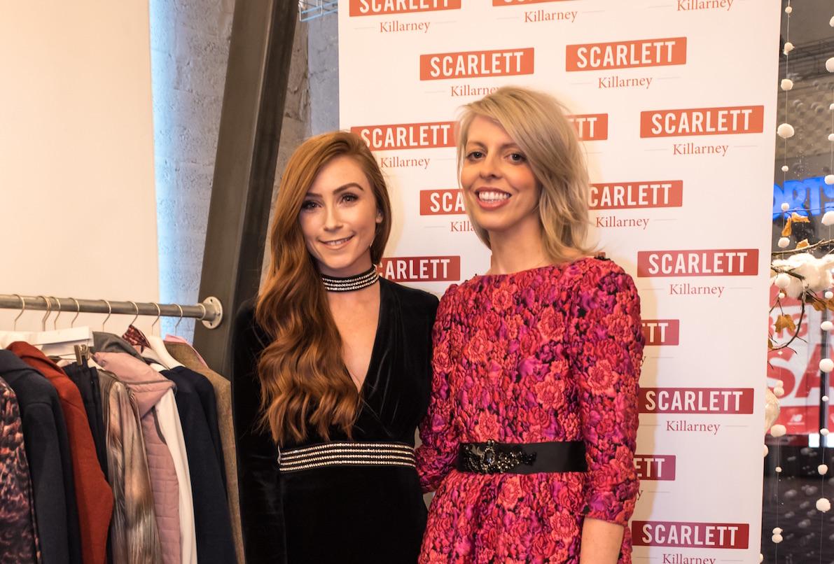 Erika Fox with Karen Griffin at Scarlett on Scotts Street, Killarney.