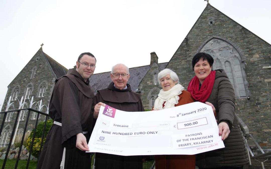 Volunteers raise €900 for Trocáire