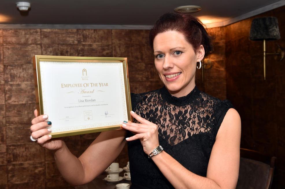 Staff awards for loyal Royal staff