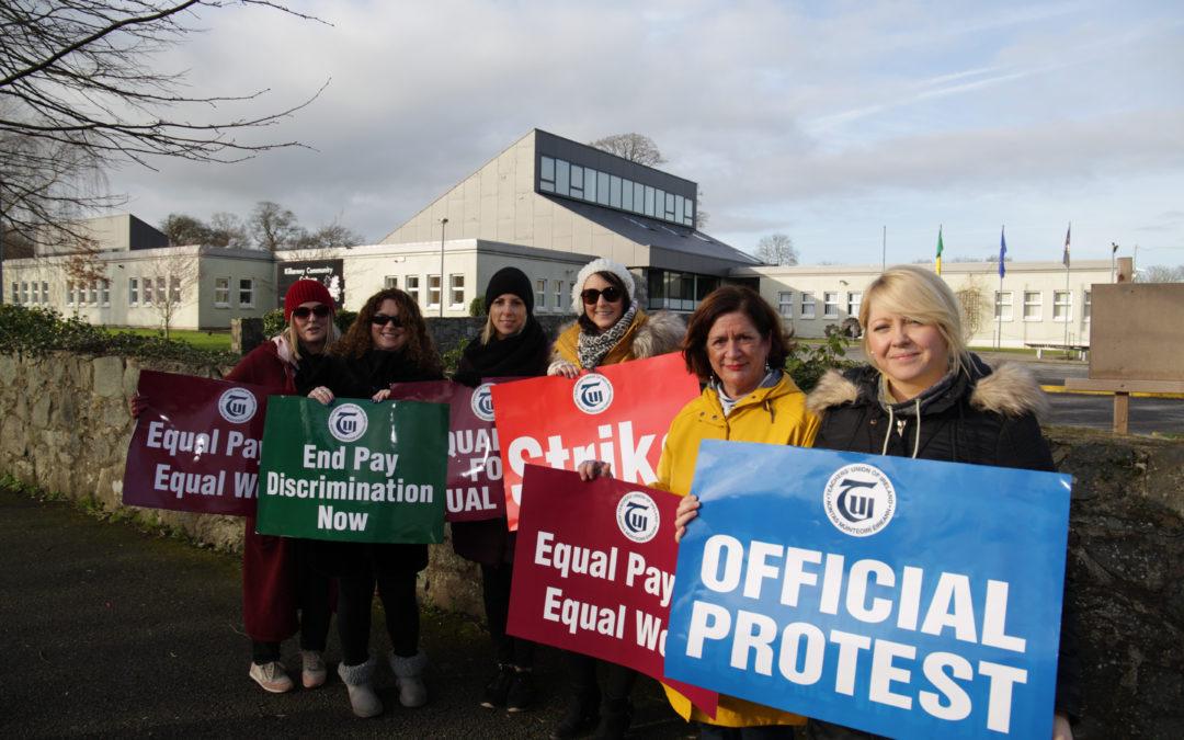 Killarney schools shut for strike