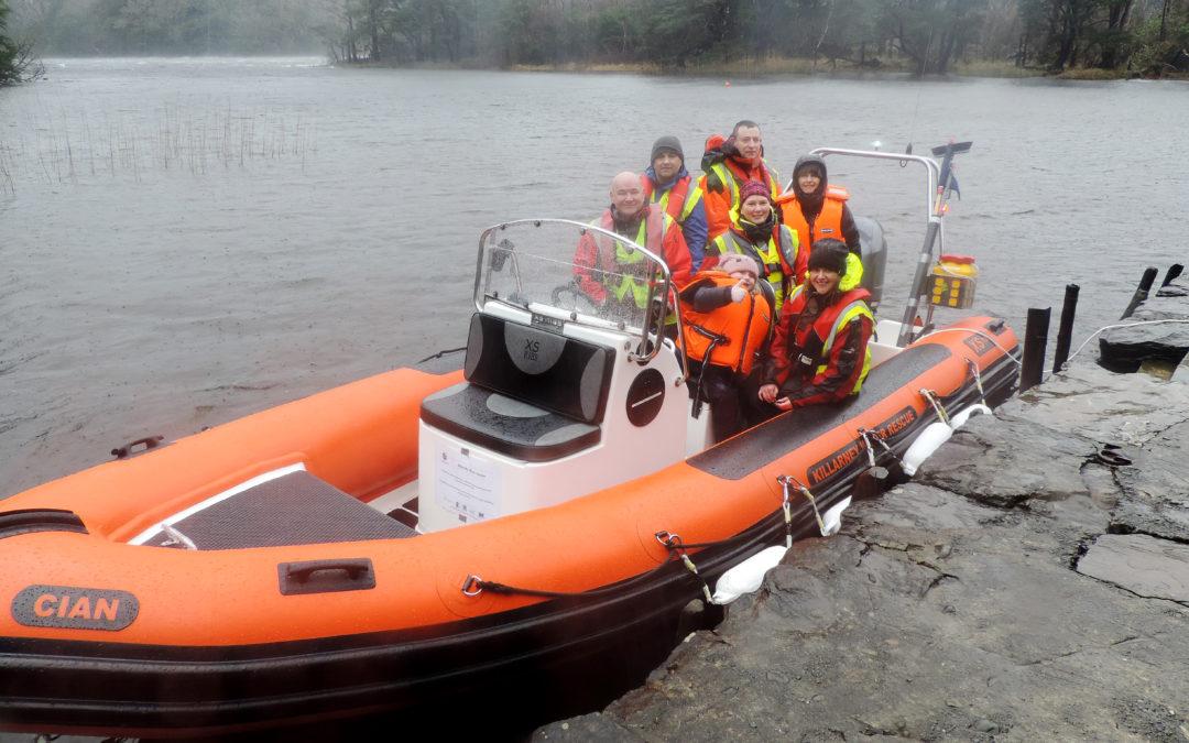 New boat for Killarney Water Rescue