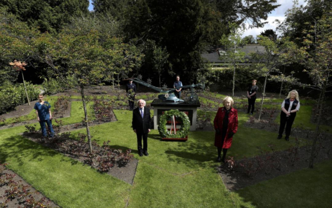 President Higgins marks International Workers' Memorial Day