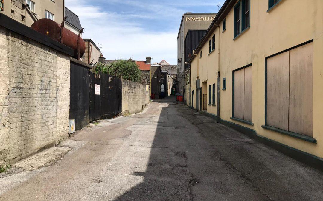 Laneway improvement grants welcomed