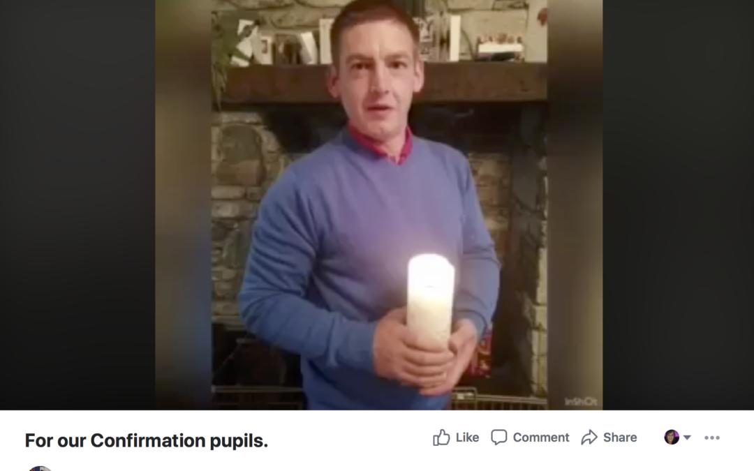 Schools send out heartfelt message to confirmation pupils