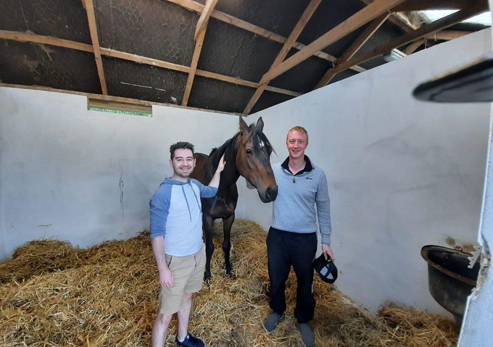 Win a racehorse and help injured jockeys