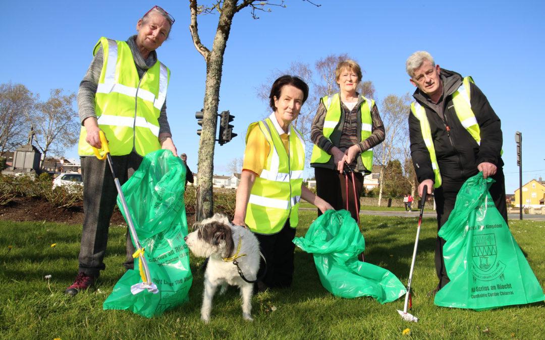 Increase in facemask littering a hazard to volunteers