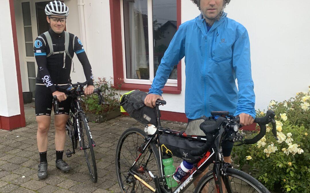 Three Killarney men take on 2,500km cycle challenge