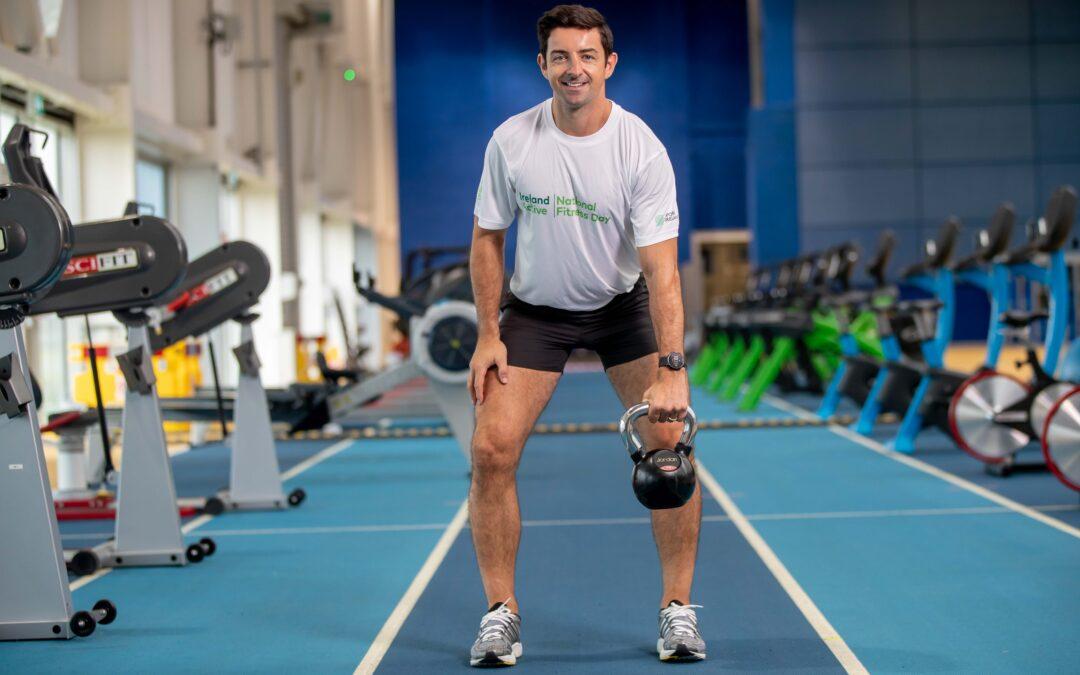 Aidan O'Mahony launches National Fitness Day
