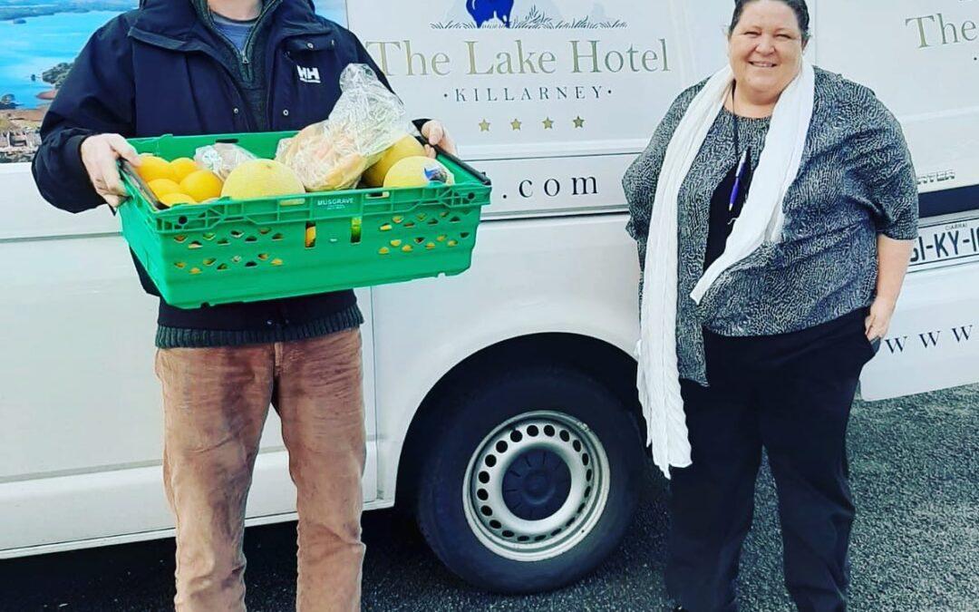 Killarney hotel donates food to charity