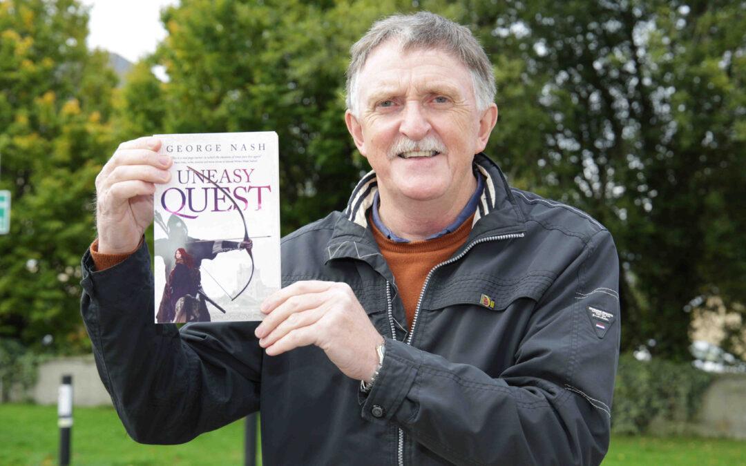George debuts historical novel