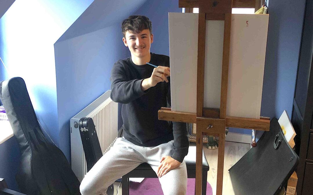 Cahersiveen student named overall winner of Texaco art competition