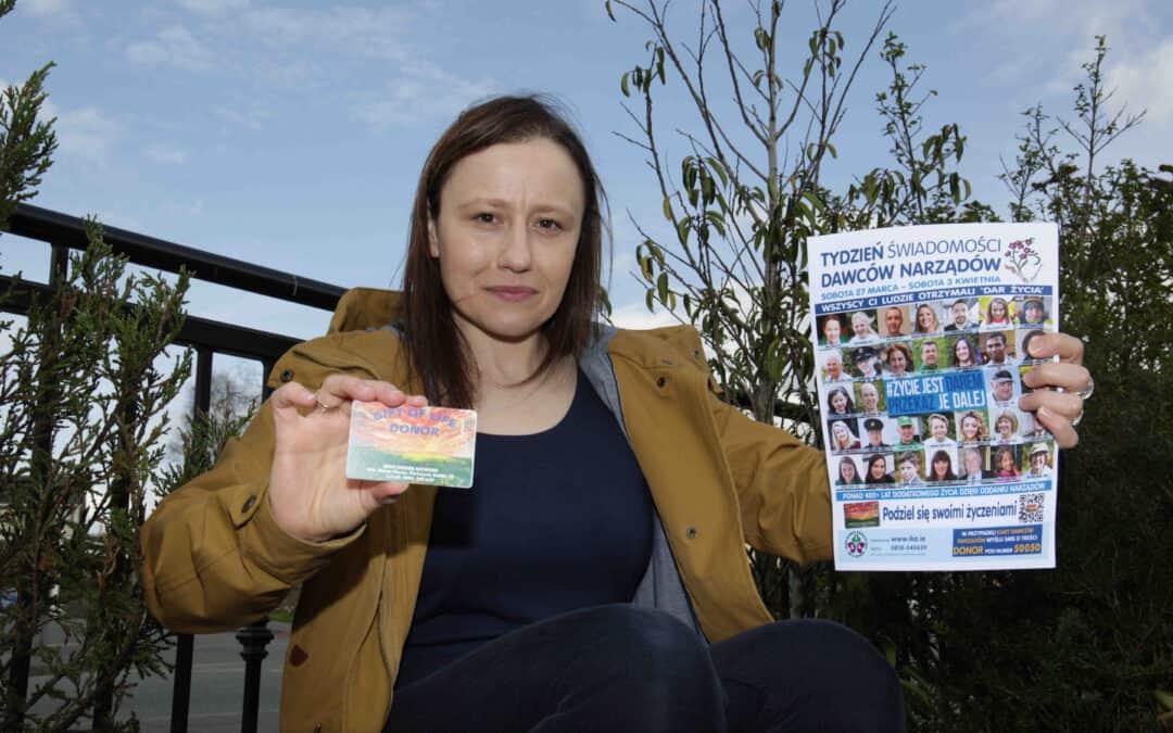Anna leads Polish Irish Organ Donation Week campaign