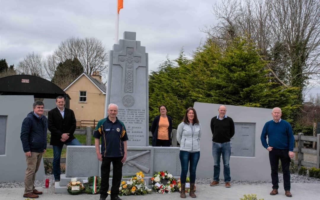 A quiet commemoration for Headford Ambush centenary