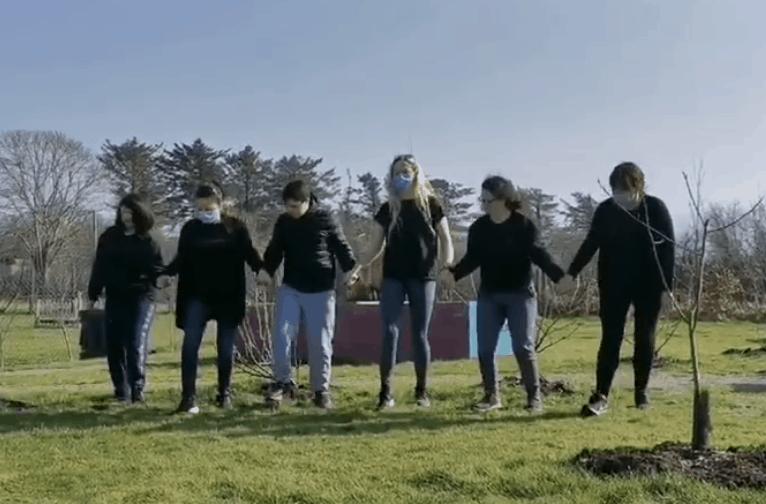 Uplifting school video reaches 60k views online
